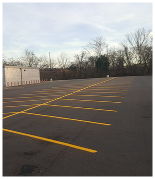 Parking Lot Striping in Chattanooga, TN